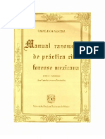 Manual Razonado de Practica Civil Forense - PDF