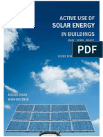 Active Use of Solar Energy in Buildings