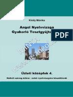 Angol Nyelvvizsga Gyakorló Tesztgyűjtemény