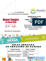 Jornada de Donacion de Sangre