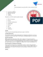 BBFC Certification