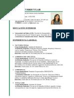 CV Mod Resumen Curricular