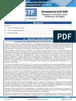 Informativo STF 838