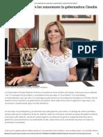 18-10-16 Busca unidad entre los sonorenses la Gobernadora Claudia Pavlovich Arellano. - El Reportero