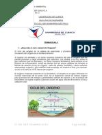 Trab. No.2 Ciclo Del Oxigeno y Contaminacion Termica
