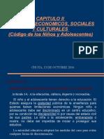 Capitulo II -Derechos Economicos -Adolscts