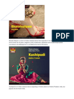Bharata Natyam is a Form of Indian Classical Dance That Originated in the Temples of Tamil Nadu and is Known for Its Grace