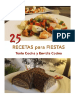 25 Recetas Para Fiestas