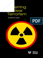 Deterring Nuclear Terrorism