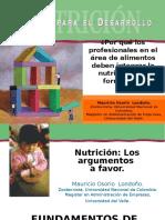 Clase 1 Nutricion La Base Para El Desarrollo