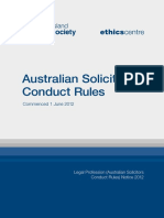 Doc20150317 QLS Australian Solicitors Conduct Rules 2012 FNL