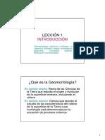 LECCIN 1 GEOMORFOLOGIA