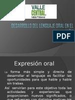 Desarrollo Del Lenguaje Oral en El Niño