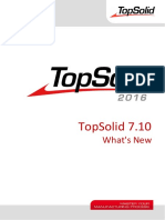 TopSolid 7.10 What's New
