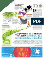 Potencial de La Biomasa en Chile