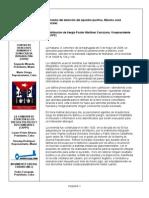 CAPPF -Derrumbo del domicilio del opositor pacifico, Máximo José González