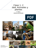 Clase 1 y 2 Unidad Plantas y Animales