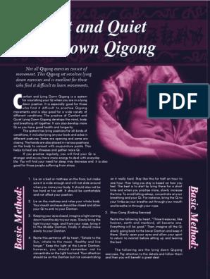 Comfort and Quiet Lying Down QiGong   Qigong   Qi