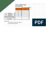 Pr 2 Excel No Absen Genap Tp 2013