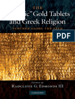 The 'Orphic' Gold Tablets and Greek Religion