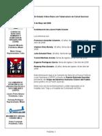 CAPPF - En Estado Critico Reos con Tuberculosis en Cárcel Quivican