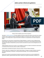 13/10/10 Recibe El Poder Legislativo Primer Informe de Gobierno-Opinionsonora.com