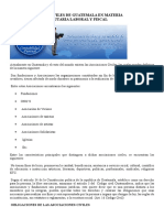 Las Asociaciones Civiles de Guatemala en Materia Administrativa Tributaria