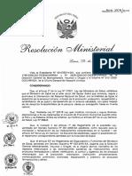 Directiva Sobre Estudios de Estabilidad (RM805-2009MINSA