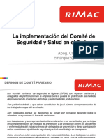 Implementaci- Del Comit- SST