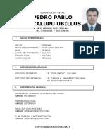 Pedro Pablo Macalupu Ubillus