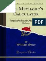 The Mechanics Calculator