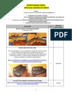 Catalogo de Venta de Artìculos Usados