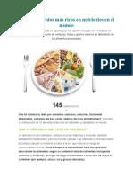 Top 10 Alimentos Más Ricos en Nutrientes en El Mundo