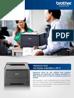 Impresora Laser HL-6180DW
