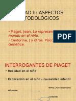 Unidad 2 Piaget-castorina