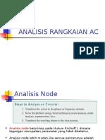 Analisis Ac - Node