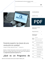 Clinic Cloud Paciente Experto_ entradas