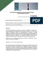 Politicas de Iliquidez en el sector agropecuario de Nicaragua 1990-2012