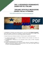 Residenza a Panama Per Gli Italiani - Trasferirsi a Panama