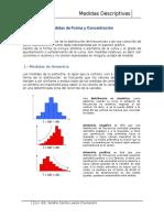 Medidas de Forma y Concentraciòn