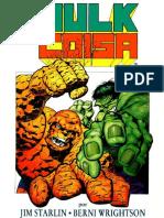 Graphic Marvel 01 - Hulk vs o Coisa