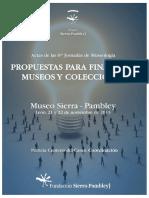 CENTENO DEL CANTO Coord. 2013 Propuestas Para Financiar Museos y Colecciones