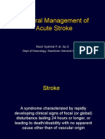 General Management Stroke