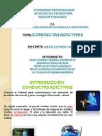 Conductas Adictivas Al Internet