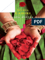 Jhumpa Lahiri - Distanța Dintre Noi