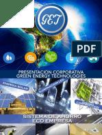 Presentación Plan de Ahorro Energetico y Sostenible