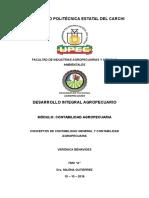 Deber N° 1 Conceptos de Contabilidad General y Contabilidad Agropecuaria