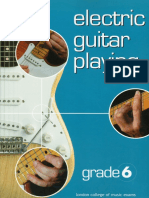 RGT-LCM Electric Guitar Playing - Grade 6