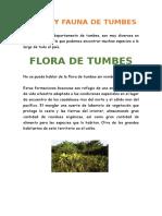 Flora y Fauna de Tumbes