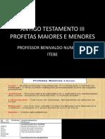 Antigo Testamento III Profetas Maiores e Menores (4) PDF